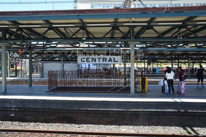 シドニーのセントラル駅