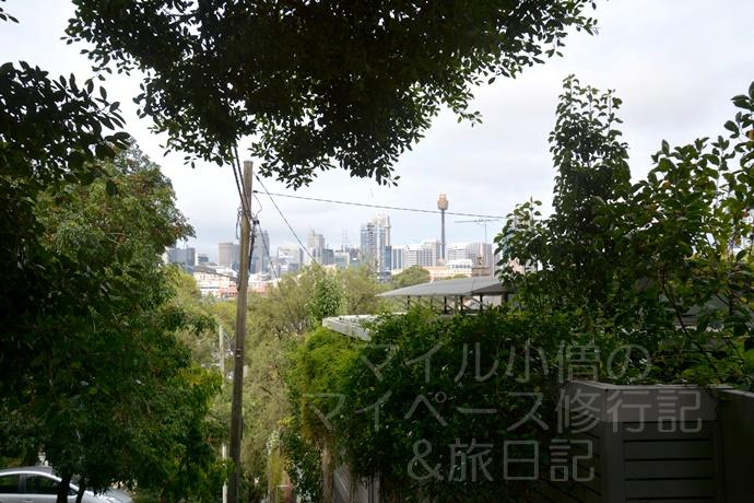 シドニーの住宅街