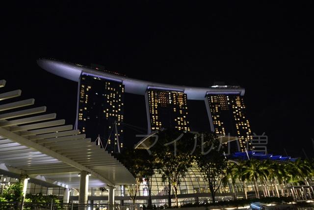 シンガポールのマリーナベイ・サンズ