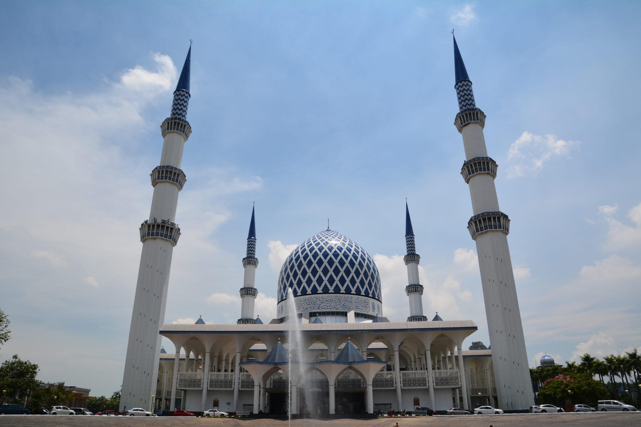 マレーシアのブルーモスク